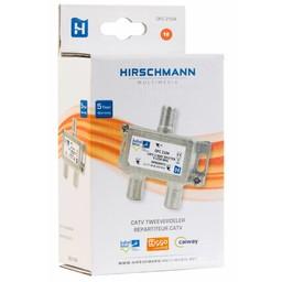 Hirschmann CATV-Splitter 3.5 dB / 5 - 1250 MHz - 2 Uitgangen