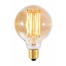 Calex Filament Globe lamp 240V 4 Watt 320 Lumen 2100K Gold