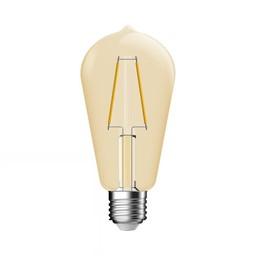 Huismerk Deco  Filament LED E27 2.8W Goud Helder