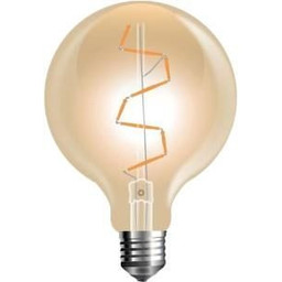 LED filament Globe G95 E27 extra warm wit 4W