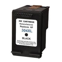 Huismerk Inkt cartridge voor HP 304XL zwart met niveau-indicator