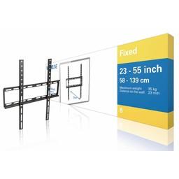 "Nedis Vaste TV-muurbeugel | 23 - 55"" | Max. 35 kg | 23 mm wandafstand"