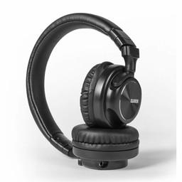 Nedis Hoofdtelefoon met snoer | On-ear | Opvouwbaar | 1,2 m loskoppelbare kabel | Zwart