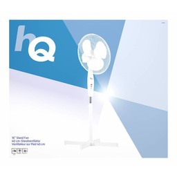 HQ Staande Ventilator 40 cm 45 W Plastic Wit