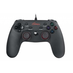 Genesis Genesis PS3/PC Bedrade Gamepad P65, zwart