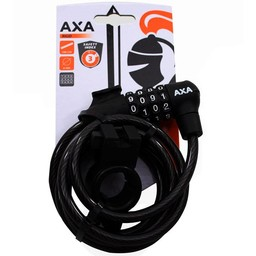 Axa spir cijferslot Rigid 180 zw