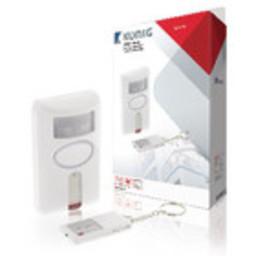 Nedis Bewegingsalarm voor Beveiliging   Alarm/zoemer op afstand   Op afstand in-/uitschakelen