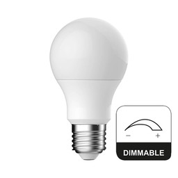 Energetic Standaard E27 8,7W Mat Dimbaar