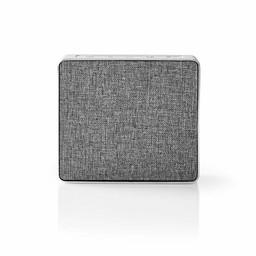 Nedis Luidspreker met Bluetooth® | 15 W | Metal design | Aluminum-zilver