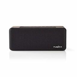 Nedis Luidspreker met Bluetooth® | 30 W | Waterbestendig | Equalizer | Zwart / bruin