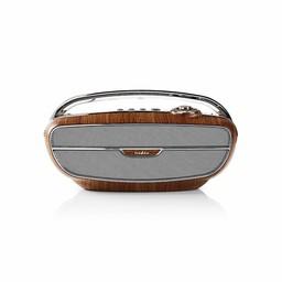 Nedis FM-radio | 60 W | Bluetooth® | Bruin / zilver