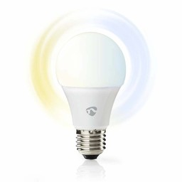 Nedis Wi-Fi smart LED-lamp | Warm- tot koud-wit | E27