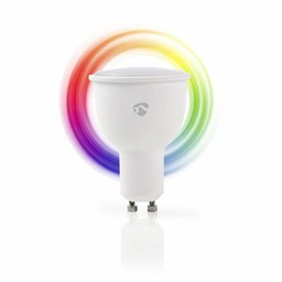 Nedis Wi-Fi Slimme LED-Lamp | Full-Colour en Warm-Wit | GU10