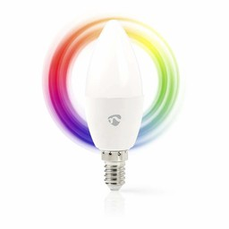 Nedis Wi-Fi Slimme LED-Lamp | Full-Colour en Warm-Wit | E14
