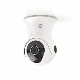 Nedis Wi-Fi Slimme IP-Camera | Draaien/Kantelen | Full-HD 1080p | Buiten | Waterbestendig