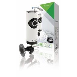 Nedis IP-beveiligingscamera | 1280x720 | Panorama | Wit / zwart