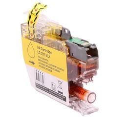 Huismerk Cartridge voor Brother LC3219XL geel