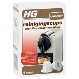 HG HG reinigingscups voor Nespresso ®