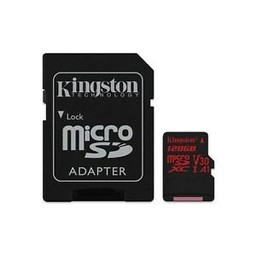 kingston SDHC Card Micro 128GB Kingston UHS-I U3 Canvas React