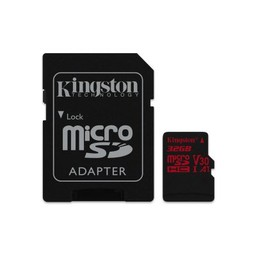 kingston SDHC Card Micro 32GB Kingston UHS-I U3 Canvas React