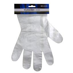 Elma wegwerphandschoen plastic universeel 20 stuks