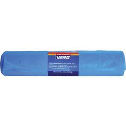 Vero afvalzak extra sterk blauw 120 l 10 stuks