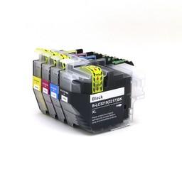 SecondLife Inkjets Huismerk - Multipack Brother LC 3219 BK, C, M en Y