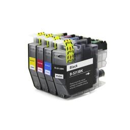 SecondLife Inkjets Huismerk - Multipack Brother LC 3213 XL BK, C, M en Y