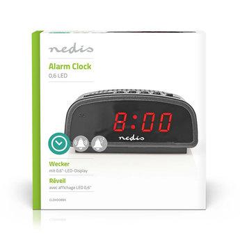 "Nedis Digitale Alarmklok   LED van 0,6""   Sluimeren"