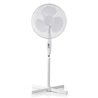 Nedis Staande ventilator | Instelbare hoogte | Diameter 40 cm | 3 snelheden | Wit