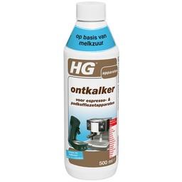 HG ontkalker voor espresso- & padkoffiezetapparaten op basis van melkzuur