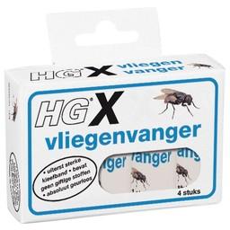 HG X vliegenvanger 4 st.