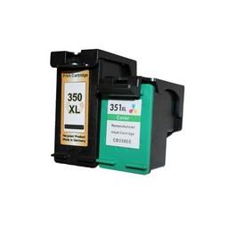Huismerk Set cartridges voor Hp 350Xl+351Xl