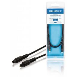 <br />  Toslink Digitale audiokabel Toslink mannelijk - Toslink mannelijk 1,00 m zwart
