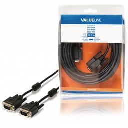 <br />  VGA kabel VGA mannelijk - VGA mannelijk 10,0 m zwart