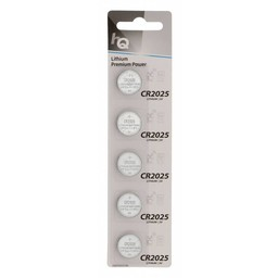 Nedis Lithium knoopcel-batterij CR2025 | 3 V | 5 stuks | Blister