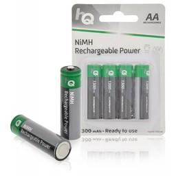 Nedis Oplaadbare NiMH batterij AA | 1,2 V | 1300 mAh | 4 stuks | Blister