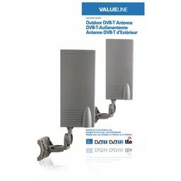 <br />  DVB-T-buitenantenne voor gebruik binnen en buiten 15 dB