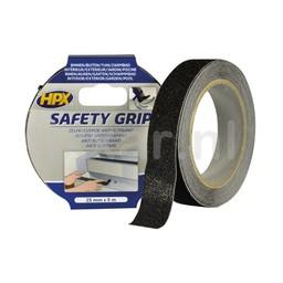 Hpx Anti-slip tape - zwart 25mm x 5m