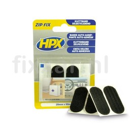 Hpx Zip fix klittenband pads - 20mm x 50mm