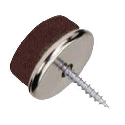 QlinQ QlinQ viltglijder schroef metaal 20 mm