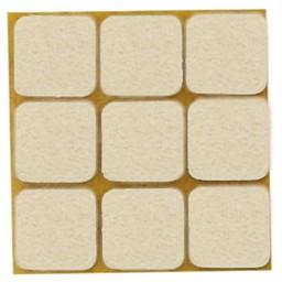 QlinQ QlinQ anti-krasvilt dub. pak wit 25 x 25 mm