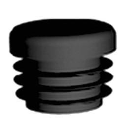 QlinQ QlinQ inslagdop insteek rond zwart 19 mm 4 stuks