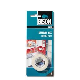 Bison Bison Dubbel Fix schuimtape wit rol 1,5 m x 19 mm