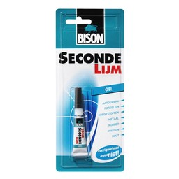 Bison Bison secondelijm gel 3 g
