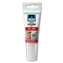 Bison Bison siliconenkit glas transparant 60 ml