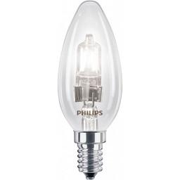Philips Philips EcoClassic halogeenkaarslamp 230 V 28 W E14 lichtkleur warm wit