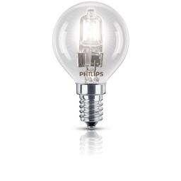 Philips Philips EcoClassic halogeenkogellamp 230 V 18 W E14 lichtkleur warm wit
