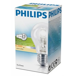 Philips Philips EcoClassic halogeenlamp 230 V 18 W E27 lichtkleur warm wit