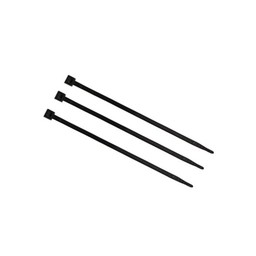 Bundelbandjes zwart 350 mm x 4,5 mm